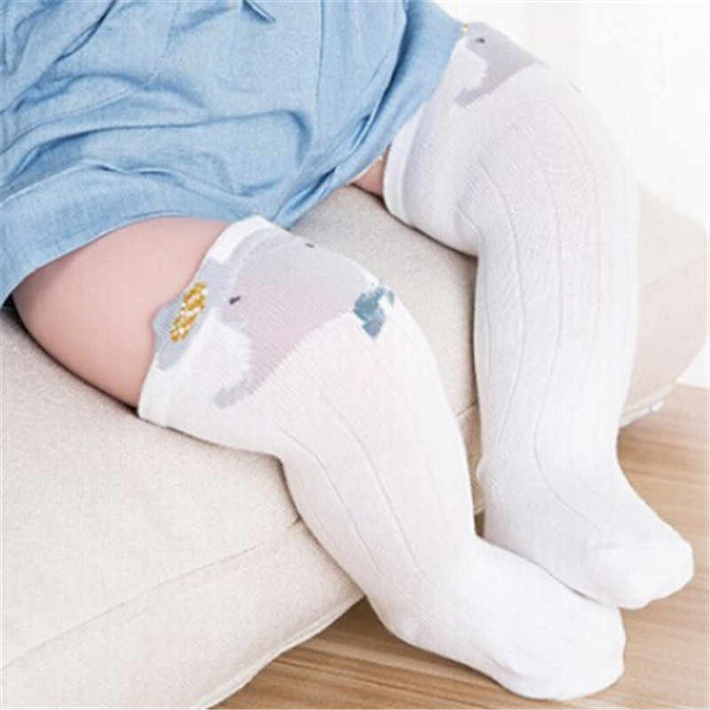 子供のプリンセスガールタイツストッキングベビーかわいいパンスト子供タイツ膝ストッキング白の漫画の猫