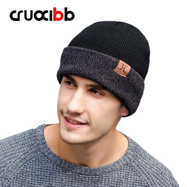 c602eed204aef Beanie Women Winter Hat Men Unisex Warm Skullies Super Quality Snow Cap  Letter Hats Casual Caps Brand Fashion Colorful Soft