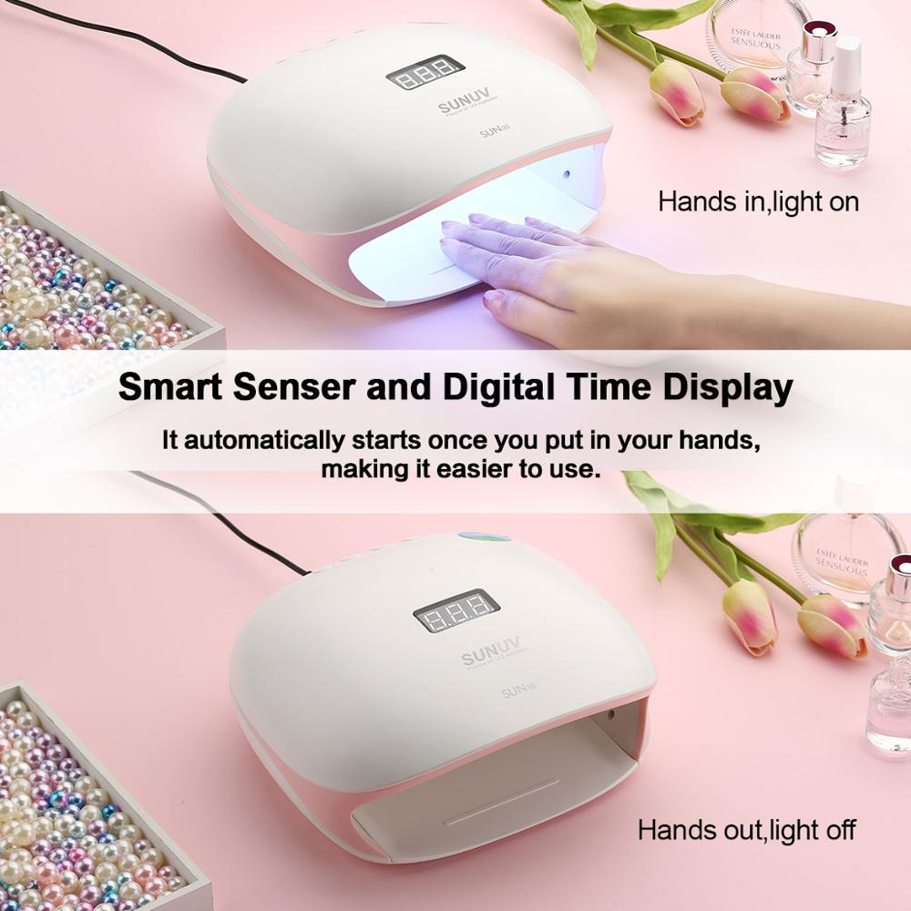 polones com sensor inteligente display lcd manicure salao arte do prego rosa 04
