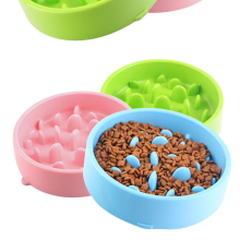Pet Dog Cat Slow Food Bowl, Prevent Obesity, Supplies, Supplies