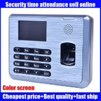 2016 New ZKSoftware Color LCD Biometric Fingerprint Time Attendance Machine TCP/iP RS232/485 TX628