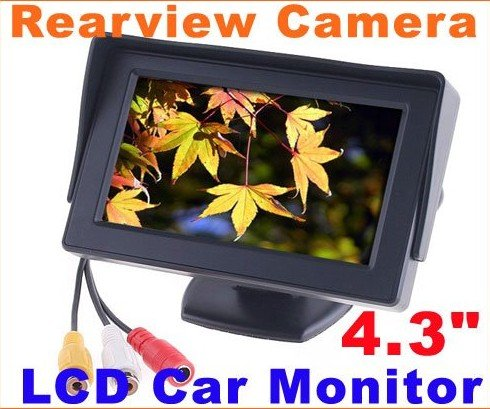 Super billig & Auto Rück Monitor 4,3