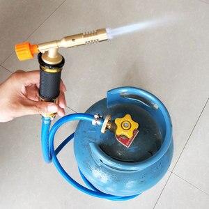 Image 2 - אלקטרוני הצתה נוזלי ריתוך גז לפיד נחושת עם פיצוץ הוכחה צינור ריתוך אש אקדח עבור אינסטלציה מיזוג אוויר