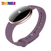 SKMEI Women Fashion Smart Watch for IOS Android with Fitness Sleep Monitoring IP67 Waterproof Remote Camera Relogio Feminino B16