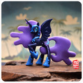 Soft pvc figure toy Luna princesa Luna nightmare Moon olor libre favorable al medio ambiente de plástico