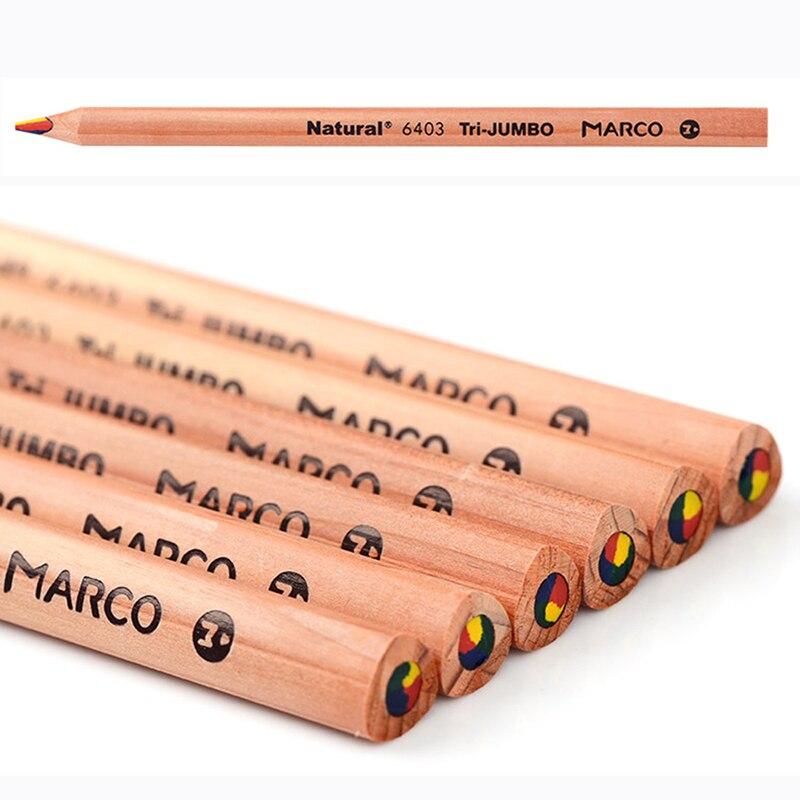 Marca marco cuatro 6403 color grueso triangular lápiz de color en de ...