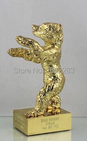 Orso doro Premi Trofeo, Replica Trofeo Doro Orso, in Lega di zinco Oro Orso TrofeoOrso doro Premi Trofeo, Replica Trofeo Doro Orso, in Lega di zinco Oro Orso Trofeo