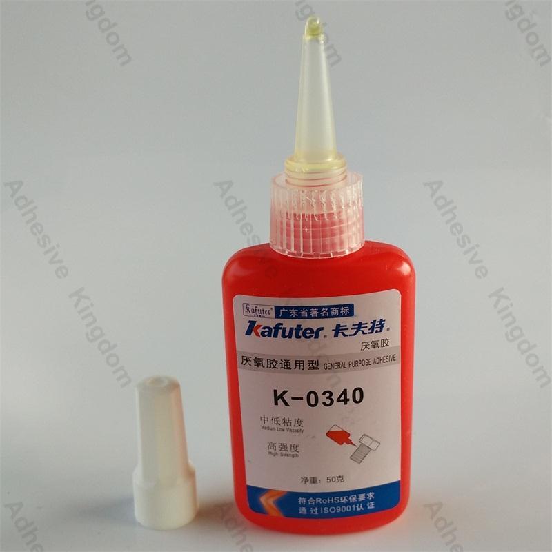 High Quality 10pcs kafuter K 0340 50g high permeability anaerobic adhesive high strength thread locker