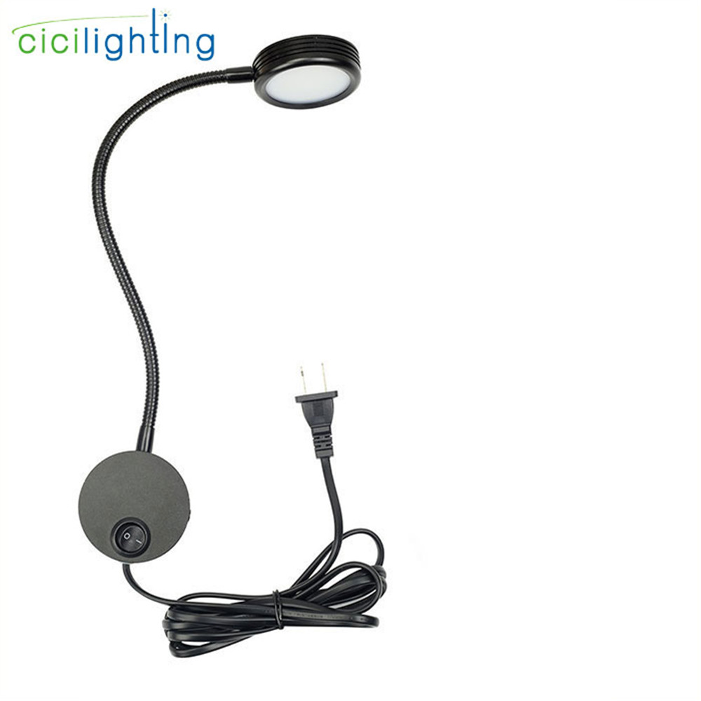 Black Plug wired Bedside Reading Light, Minimalist LED Bed Reading Lamp Switch Headboard Wall Surface Mount wall lights for home 16 channel 24v relay module board with optocoupler power supply arm dsp