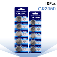 YCDC 10pcs CR2450 DL2450 CR2450n ECR2450 BR2450 KCR2450 5029LC LM2450 button Cell Coin Lithium Battery for watch CR2450 battery цена
