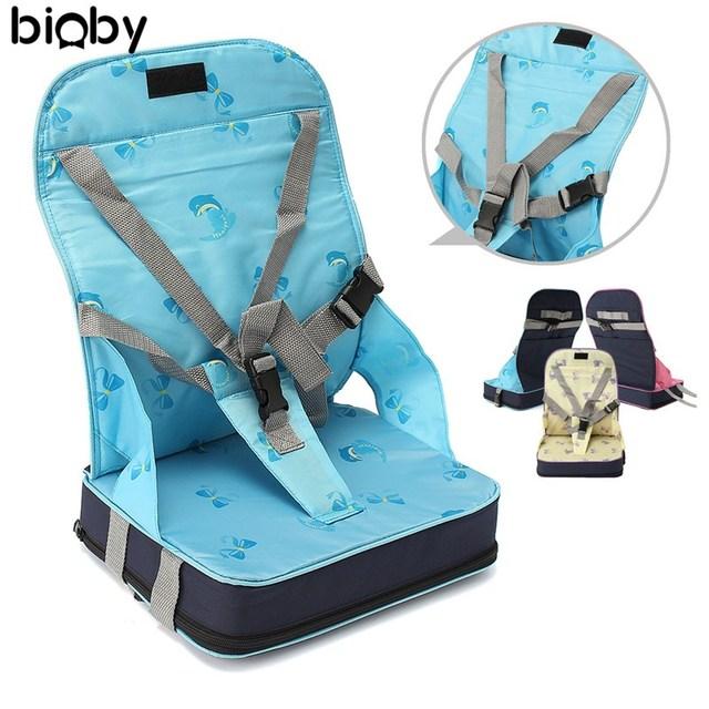 Opvouwbare Reis Kinderstoel.Booster Seats Baby Safty Stoel Seat 3 Kleuren Mode Draagbare