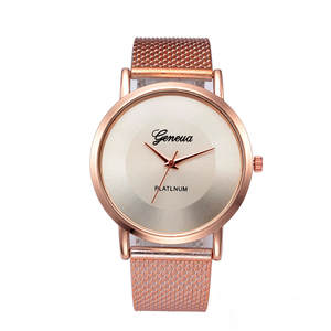 Women Watches Quartz Stainless-Steel Waterproof Ultra-Thin Brand Luxury Life Saat Kadin