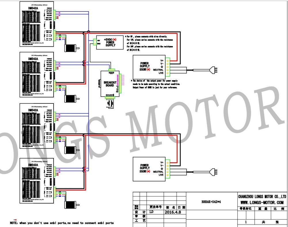 US $257.84 12% OFF|EU Free shipping[3~8days] Stepper Motor 4 Axis Nema on
