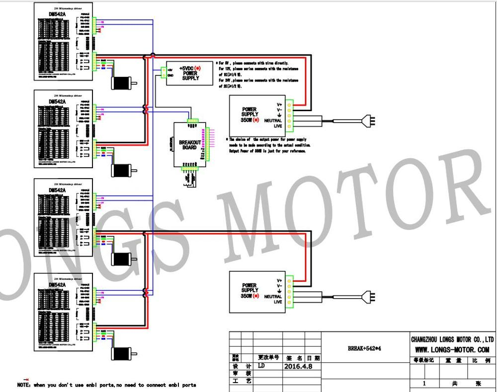 Longs Motor Wiring Diagram 4 Wire Stepper Motors Step