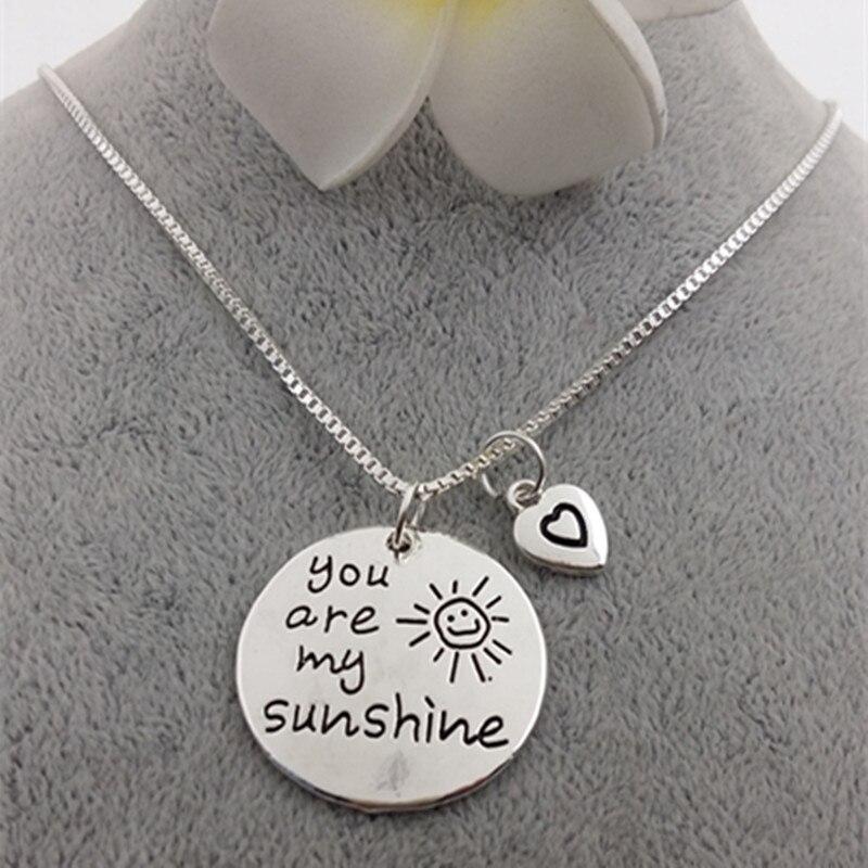 """Aliexpress.com : Buy 2018 New Fashion Jewelry """"you are my ..."""