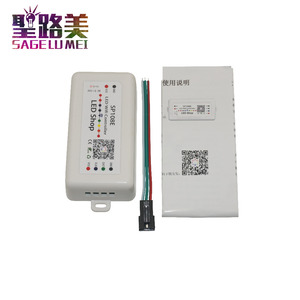 Image 2 - DC 5V 12V 24V SP108E LED WIFI Controller SPI pixel controller phone APP iOS Android For WS2811 WS2812 WS2813 LED Strip Light