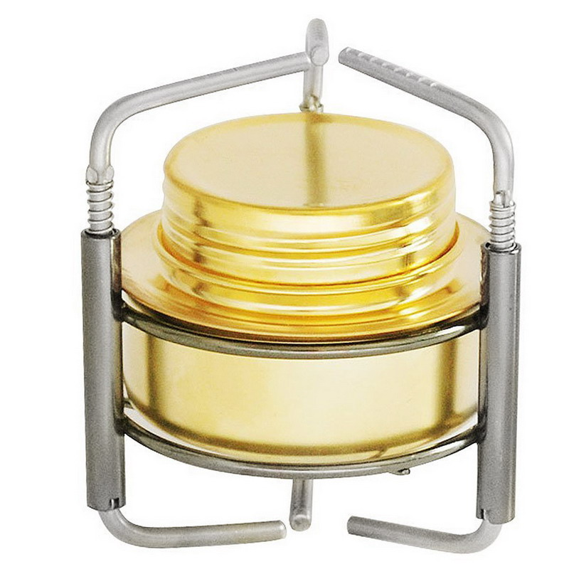 1 PC BBQ Camping Equipment Copper Mini Ultra-light Spirit Alcohol Stove Outdoor Furnace T35