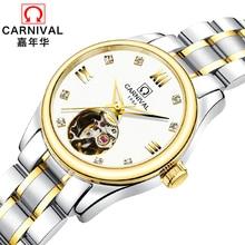 Luxury Brand Carnival Women Watches ladies Automatic Mechanical Watch Women Sapphire Waterproof relogio feminino Clock C8789L-4