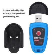 цены на USB Humidity Temperature Data Recording Logger RH Datalogger Recorder Thermometer Hygrometer Thermoregulator termometro digital  в интернет-магазинах