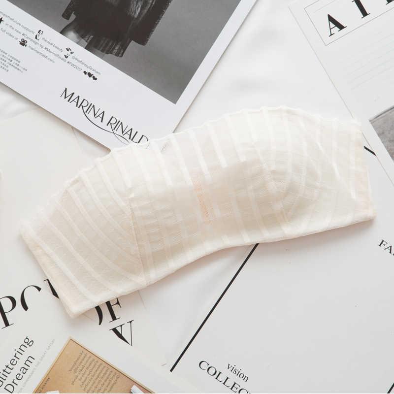 Sans fil Sexy Push Up soutiens-gorge pour petit sein sans couture Bralette femmes dentelle soutien-gorge et culotte ensembles dames brassière sous-vêtements Lingerie