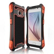 Противоударный Водонепроницаемый Пылезащитный Доказательство Закаленное Стекло Алюминий Металл Броня Чехол Для Samsung Galaxy S5/S6/S6 Edge/S6 Край Плюс