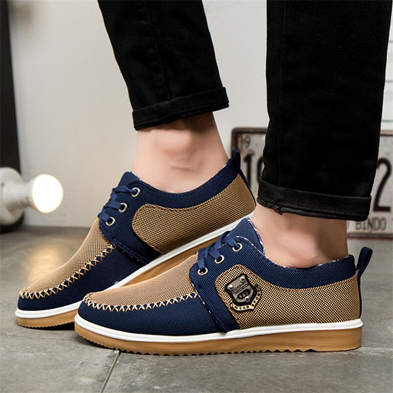 Autumn fashion men 39 s shoes men 39 s low cut fashion casual shoes everyday tooling shoes comfortable breathable canvas shoes in Men 39 s Casual Shoes from Shoes