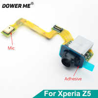 Dower Me Earphone Headphone Jack Audio Microphone Flex Cable For Sony Xperia Z5 E6683 E6653 E6633 Z5 Dual Fast Shipping