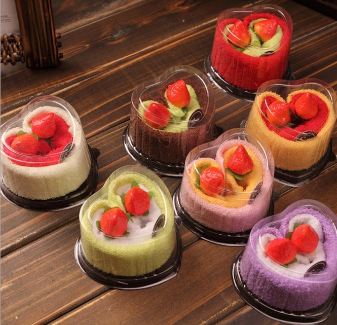Online Shop 6Pcs Swiss Roll Creative Towels Cake Wedding Party Gift Birthday Gifts Advertising