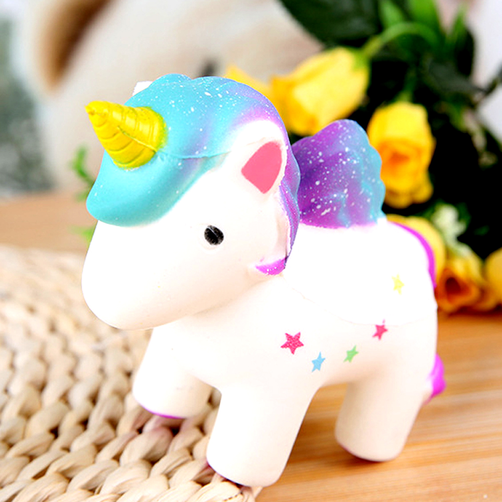 New Style Squish Antistress Toys Jumbo Squishy Unicorn Cake Panda Food Animal Slow Rising Squeeze Toys For Kids