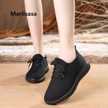 Marlisasa Zapatos De Mujer Women Fashion Black Light Weight Breathable