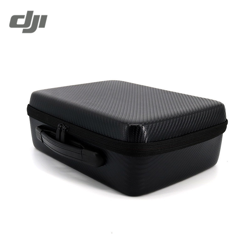 DJI Spark Drone RC Quadcopter FPV Racing PU Leather Waterproof Storage Box Carrying Suitcase Case Handbag Modified Version Black waterproof spark bag box case accessories for dji spark drone storage bag carry case