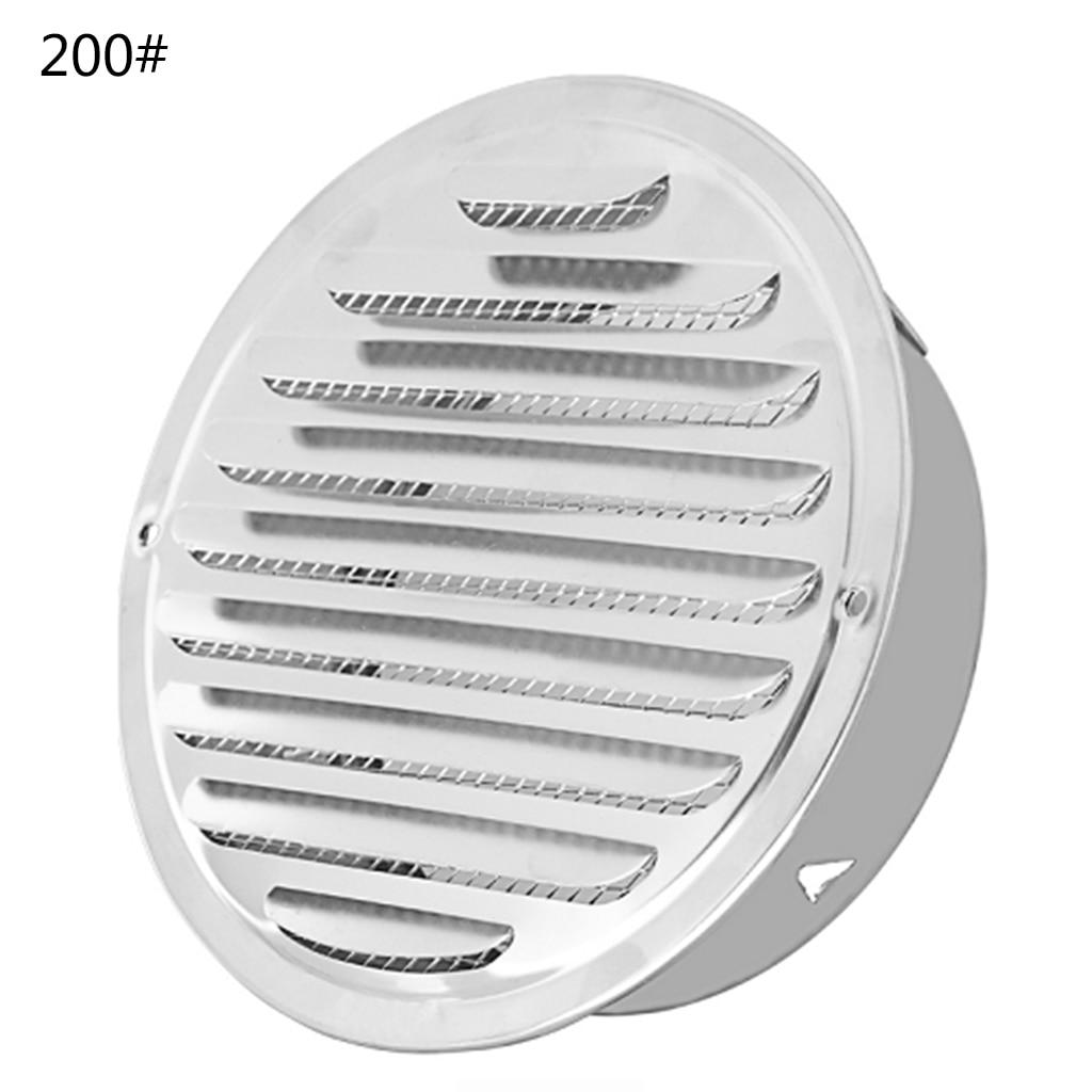 Grelhas de ventilação de duto redondas da grade de ventilação da parede exterior de aço inoxidável
