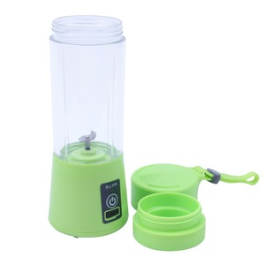 Image 4 - 380ML Blender USB Charging Mode Portable Small Juicer Extractor Household Whisk Fruits Mixer Juice Machine Smoothie Maker