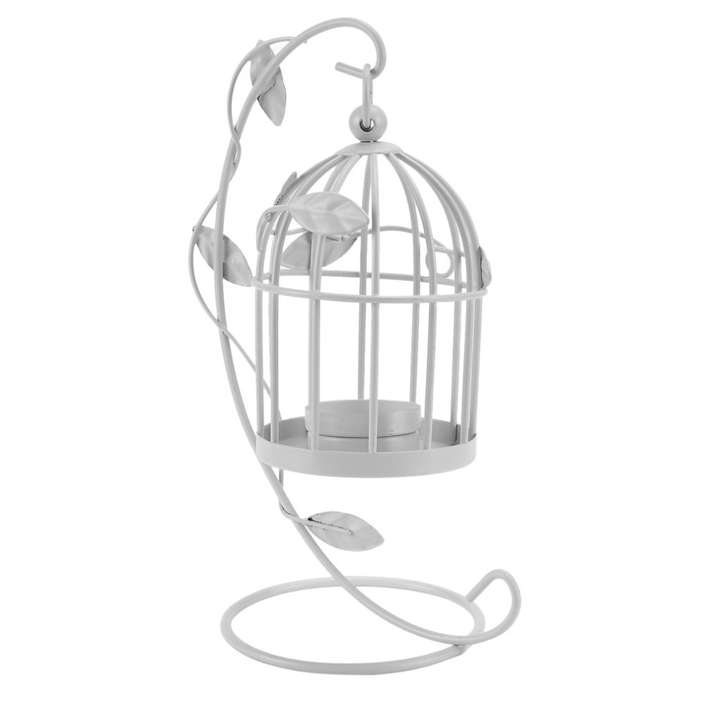 Candlestick Hanging Candle Holders Birdcage Style Vintage ... on Antique Style Candle Holder Sconces id=33592