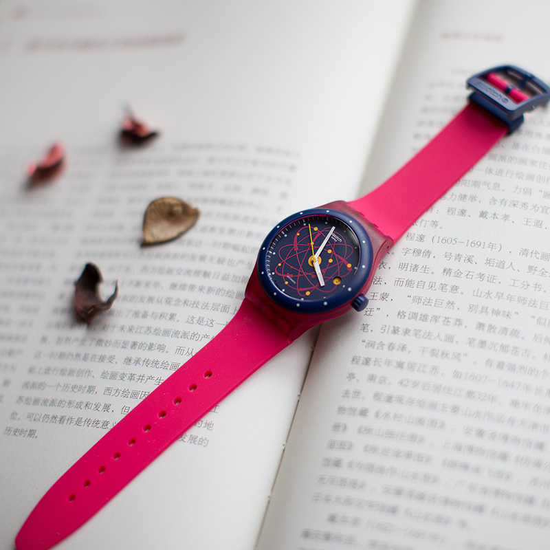 Swatch watch Device 51 planetary mechanical neutral watch SUTR401 цена и фото