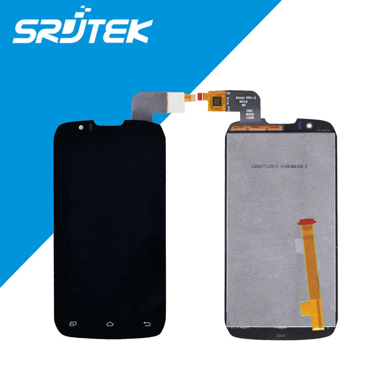 4.3 Original (5243J FPC-2 FPC-3 ) DNS S4502 DNS-S4502 S4502M LCD Display+Touch Screen Digitizer For Innos D9C D9 Glass Parts