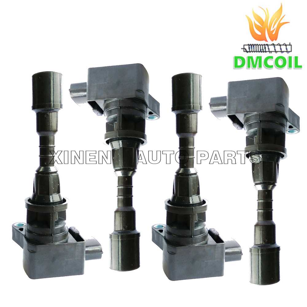 4 PCS HIGH QUALITY IGNITION COIL FOR MAZDA 5 6 MX 5 III 1 8L 2
