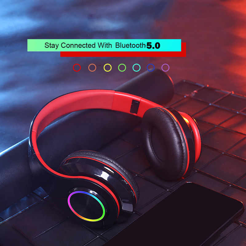 Wireless Headphones Bluetooth Headset Foldable Headphone Adjustable Earphones With Microphone For Pc Mobile Phone Mp3 Aliexpress