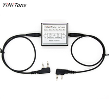 Yinitone walkie talkie repetidor, rádio com duas vias, porta k para rádio baofeng RC 308 UV 5R kenwod tyt
