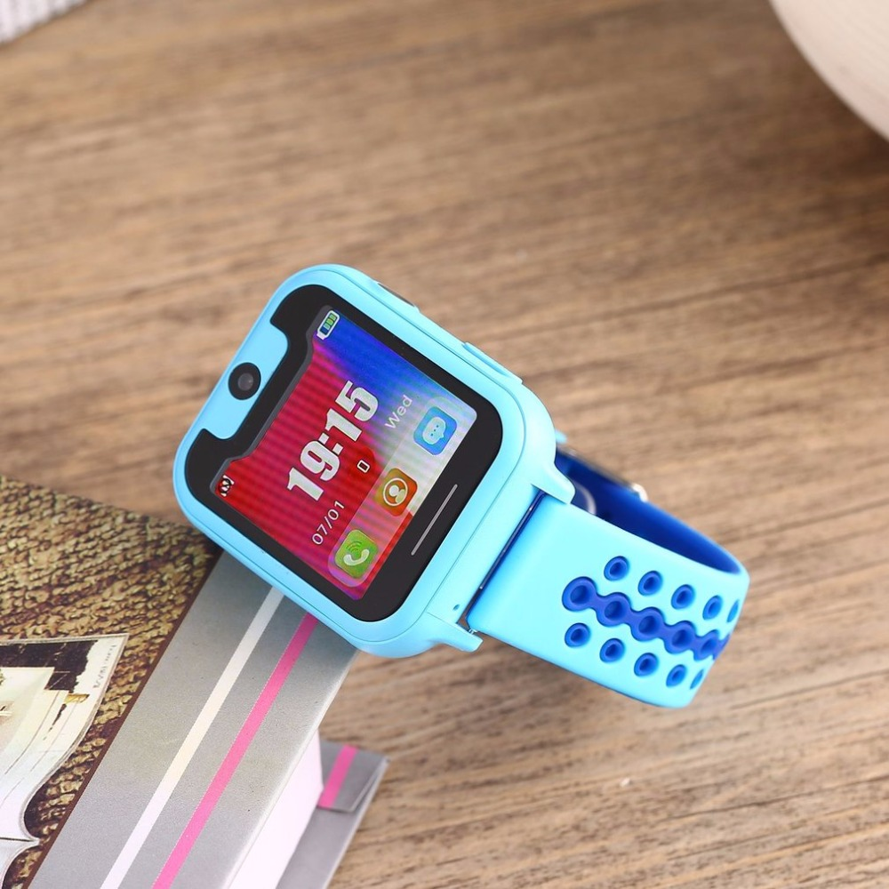 S6 1 54 Inch Touch Full Color Screen LED Digital Display Fashion and Simple Children Smart Watch Soft Strap Bending Freely in Smart Watches from Consumer Electronics