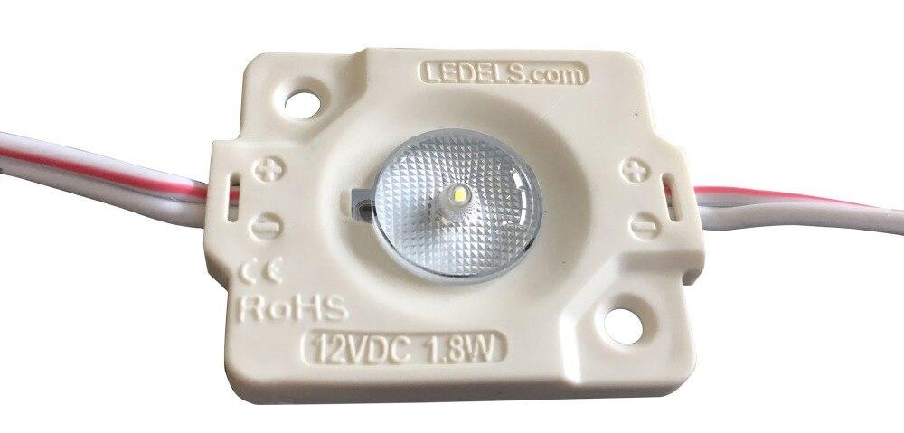 5 year warranty ip65 12v 1.8watt 200 lm 175 degrees beam angle with even illumination led for sign box