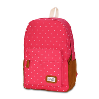 High Quality PU Leather Women Backpack Style School Backpack Black Mater Rivet Women Bag