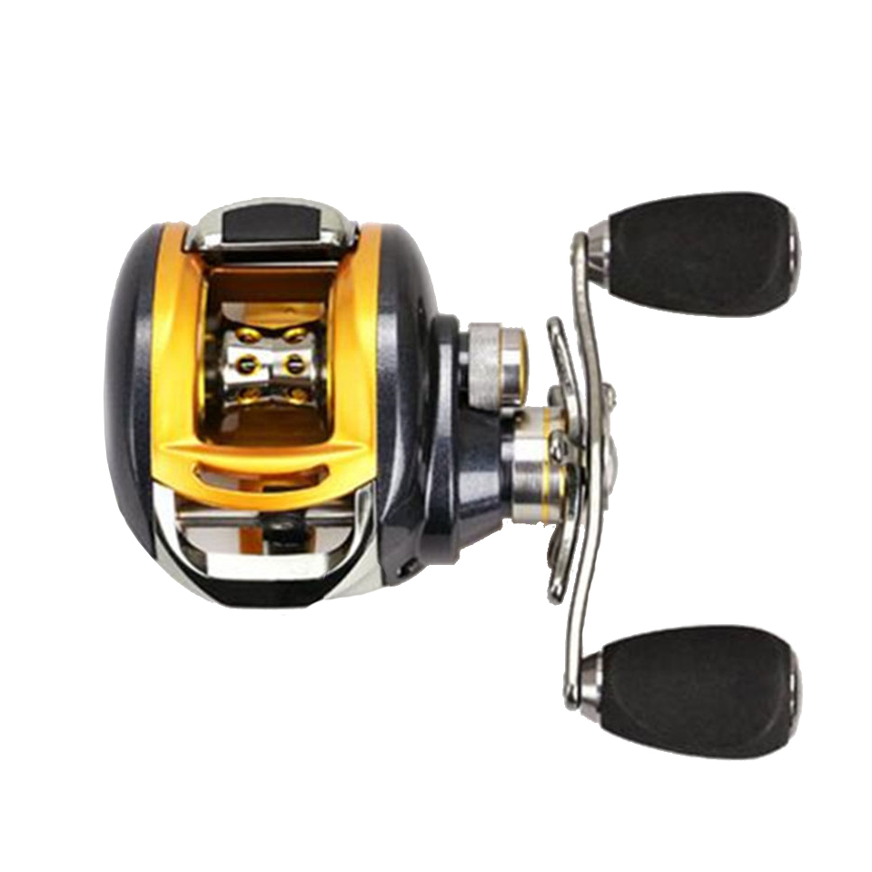 WALK FISH 2017 New Baitcasting Fishing Reel All Metal 235G 12+1BB 6.2:1 Baitcasting Fishing Reel Right Left Hand original shimano bass one xt 150 151 right left baitcasting reel 7 2 1 5bb 5kg svs syetem fishing reel carretilha moulinet peche