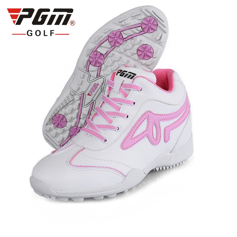 Golf Shoes For Women Soft Footwear Ladies High Top Sneakers Height Increasing Lace Up Comfortable Golf Shoes AA10099