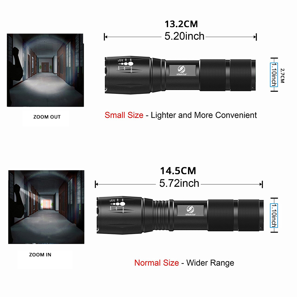 Led Flashlights 9000 Lumens Xm-l T6 L2 Led Flashlight Rechargeable Zoomable Linternas Torch Light By 1*18650 Or 3*aaa Lamp Hand Light Z50 We Have Won Praise From Customers Led Lighting