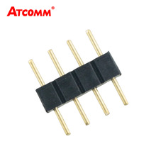 Double 4 Pin Needle Male RGB Connector Apply to SMD 5050 3528 RGB LED Strip Light Tape Light 10pcs/Lot