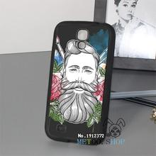 Geek Bearded Artist original phone cover case for Samsung Galaxy s3 s4 s5 s6 s6 edge s7 s7 edge note 3 note 4 note 5 &op15642
