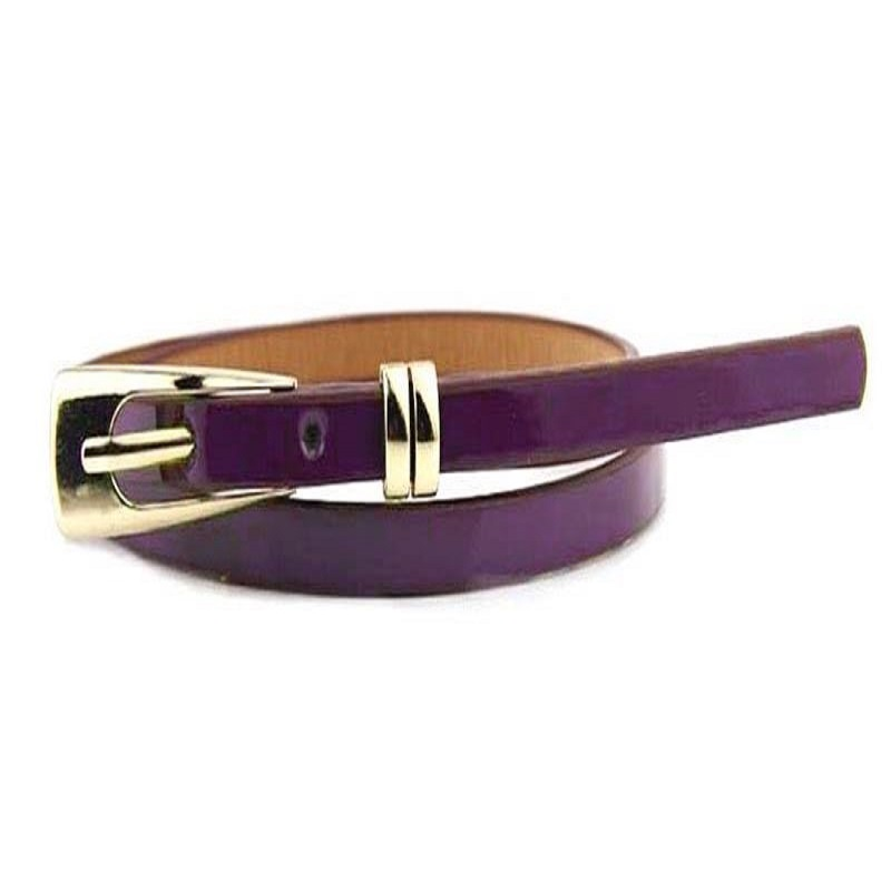 Candy Colors Leather Belt 8