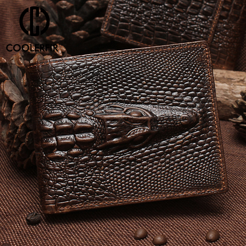 New Design Hot Short Two Fold Wallet For Men Long Luxury Genuine Leather Men 39 s Wallets Cowskin Fashion Money Bag For Male PJ012 in Wallets from Luggage amp Bags