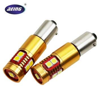AEING 2*BA9S T4W/BAY9S H21W/BAX9S H6W No OBC/Canbus Error Free Led Wedge Parking/indicator/Turn signal Light lamp Bulbs 2pcs high power canbus error free white amber ba9s t4w bax9s h6w bay9s h21w 64136 xbd 11w led lights reverse parking bulb lamps